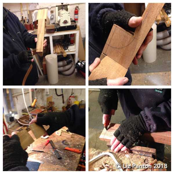 2018-01-31 Kevin Baritone Resonator Making - images 1-4 COLLAGE - blog